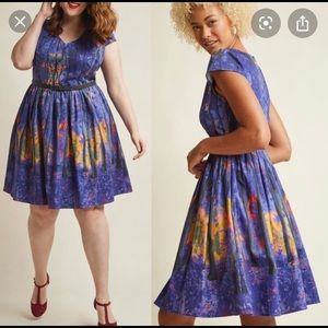 ModCloth Enchanted Forest Dress